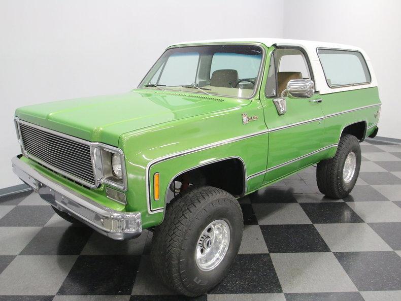 1975 Chevrolet Blazer K5 #9