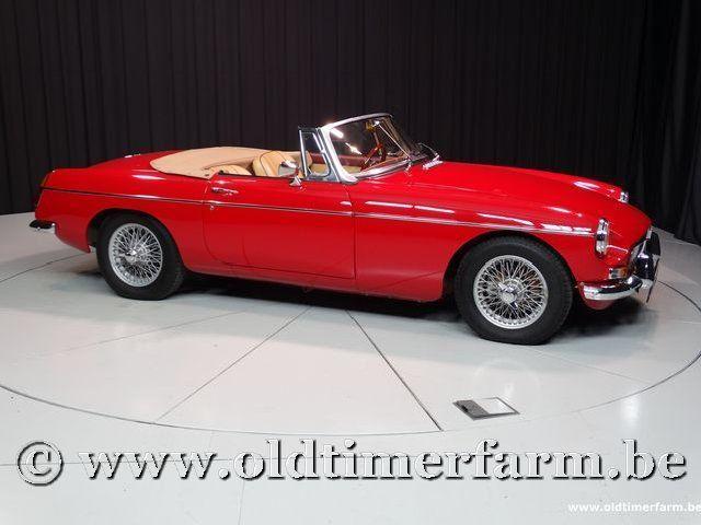 MG B Roadster Red '67 #41