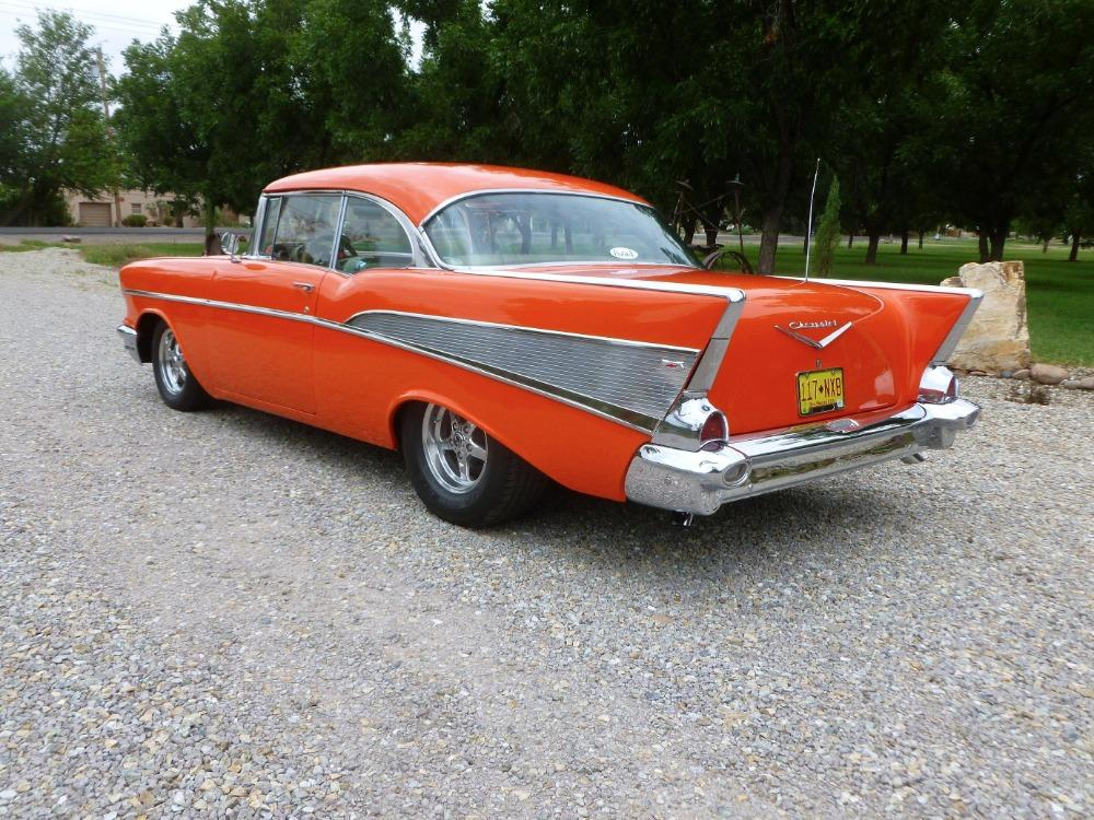 1957 Chevrolet Bel Air -400 HP - MSD - BUCKET SEATS- GREAT QUALITY DRIVER- Stock # 38357SAL for sale near Mundelein, IL | IL Chevrolet Dealer #1