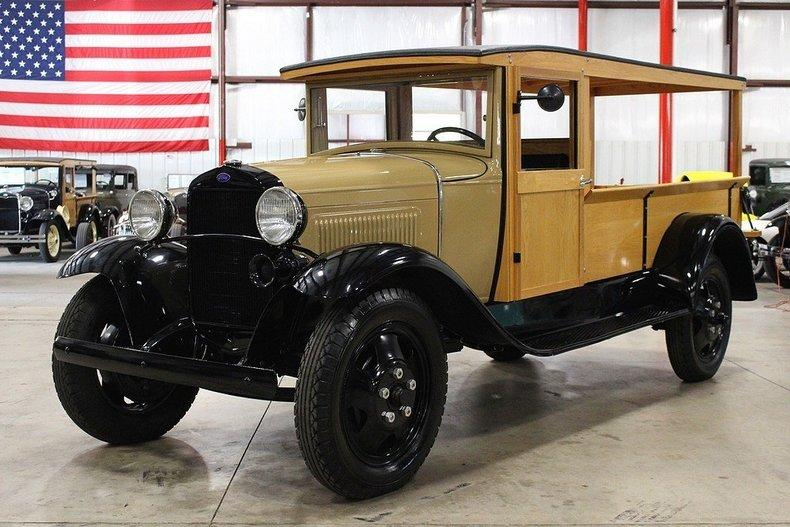 1931 Ford AA Huckster #0