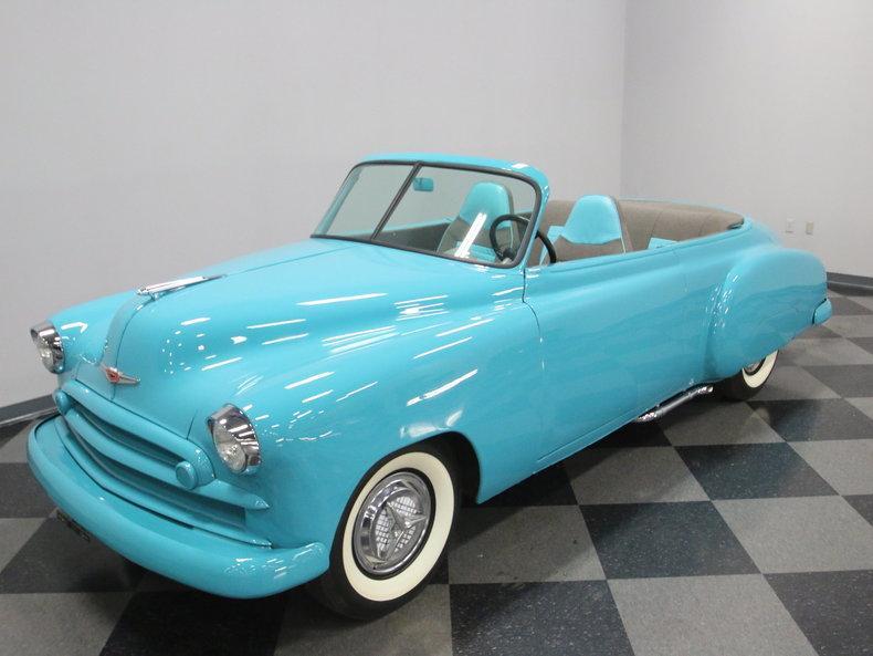 1949 Chevrolet Sedan Roadster #7
