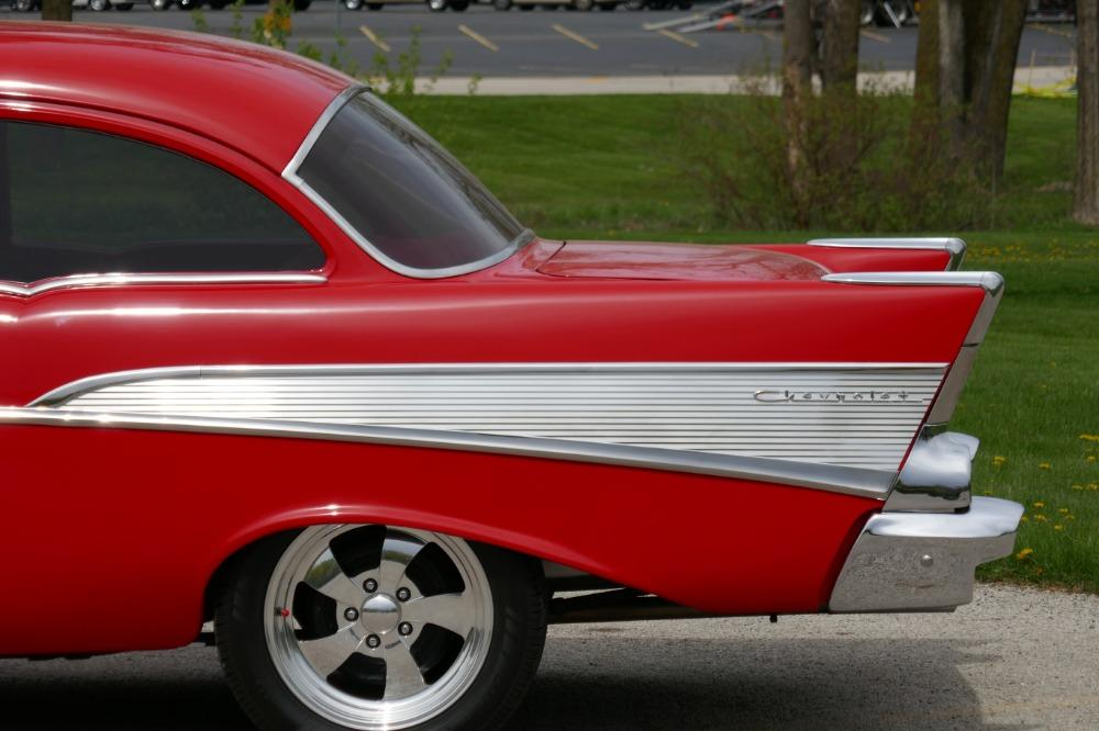 1957 Chevrolet 210 -HIGH END INVESTMENT-AMAZING PAINT AND QUALITY-TRI FIVE-NEW LOWERED PRICE - Stock # 57283CVJM for sale near Mundelein, IL | IL Chevrolet Dealer #14