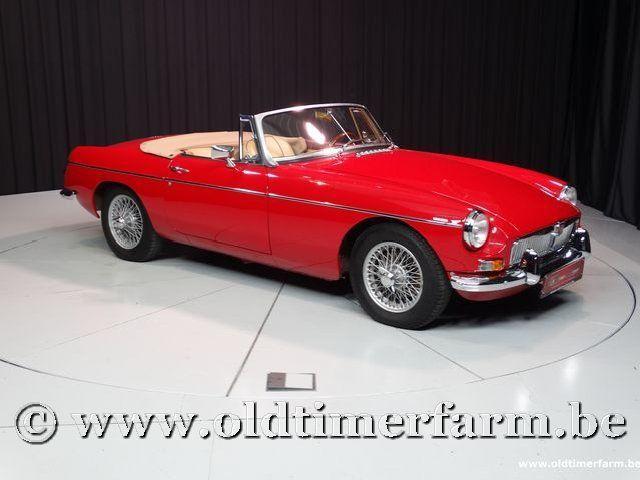 MG B Roadster Red '67 #44