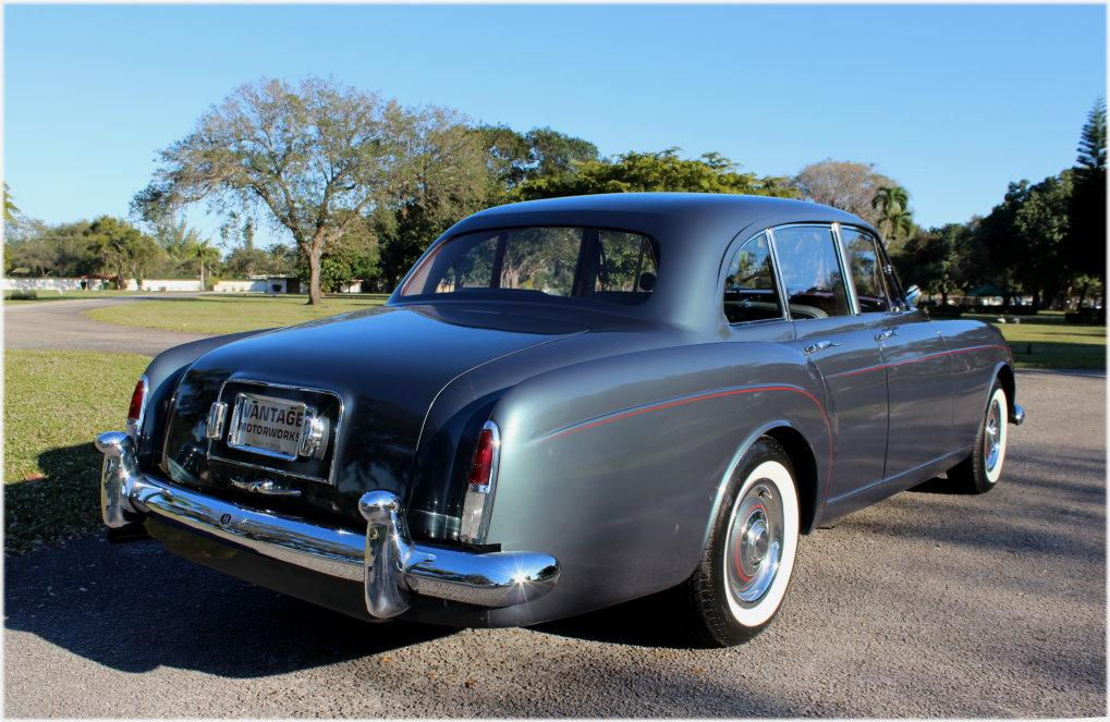 1960 BENTLEY S2 CONTINENTAL H.J. MULLINER STYLE 7508 FLYING SPUR #BC66LAR – 97,353 km (58,411 miles) #6