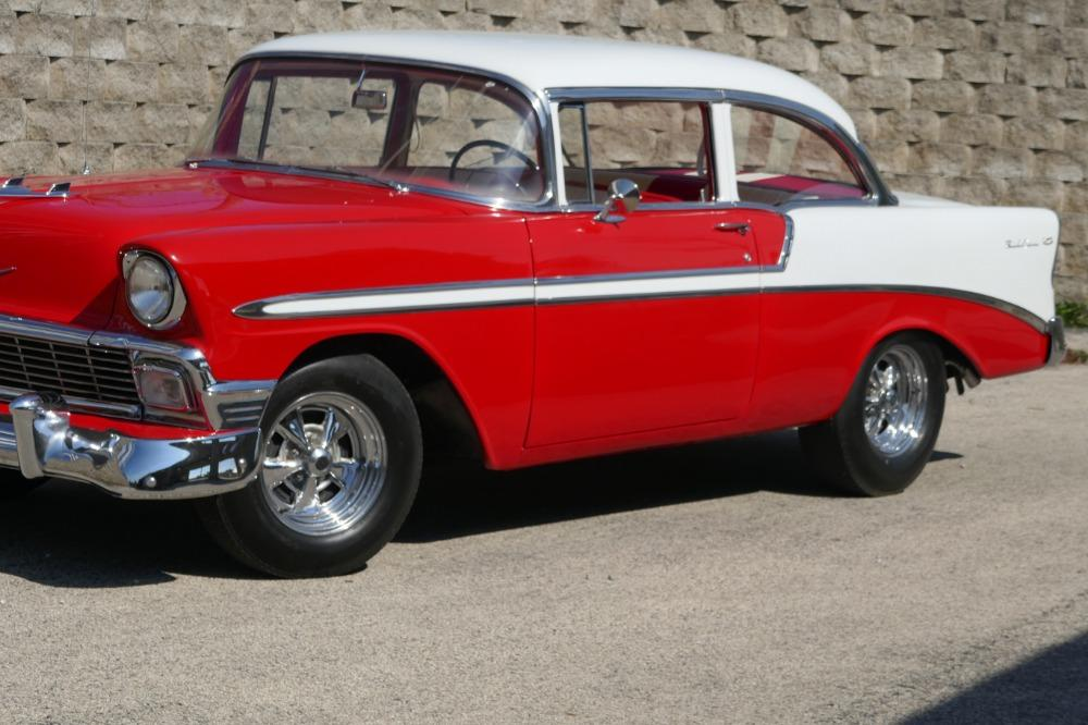1956 Chevrolet Bel Air -RESTORED SOUTHERN BEL AIR TRI FIVE- GREAT CONDITION-SEE VIDEO Stock # 28356WAC for sale near Mundelein, IL | IL Chevrolet Dealer #4