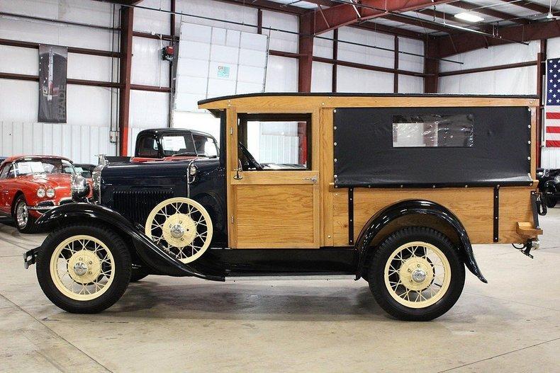 1931 Ford Model A Huckster #1