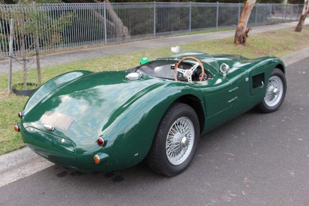 """Jaguar """"C"""" Type replica #4"""