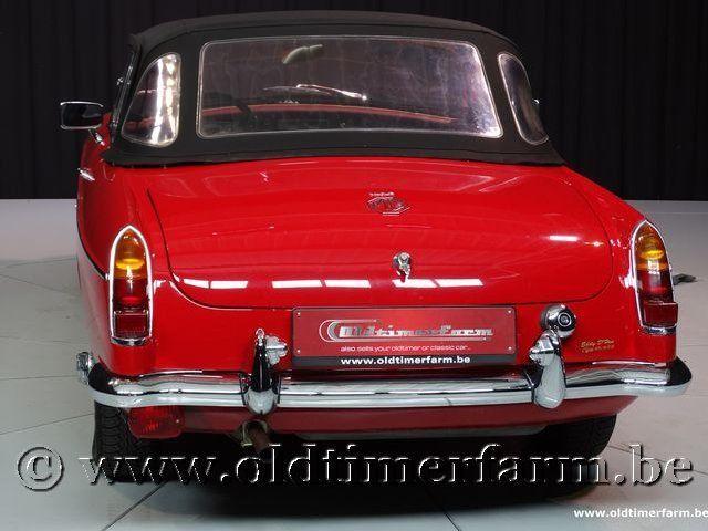 MG B Roadster Red '67 #223