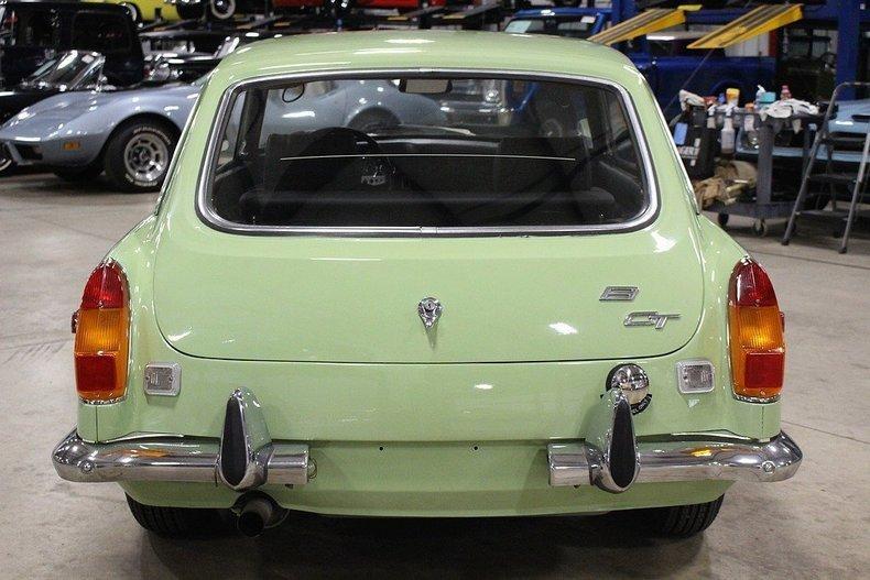1970 MG MGB GT #3