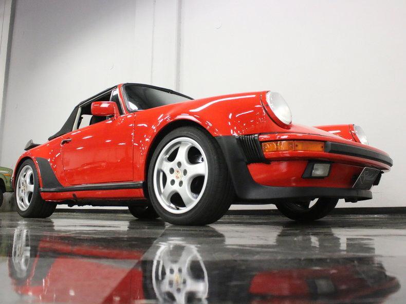 1988 Porsche 911 Turbo Cabriolet #28