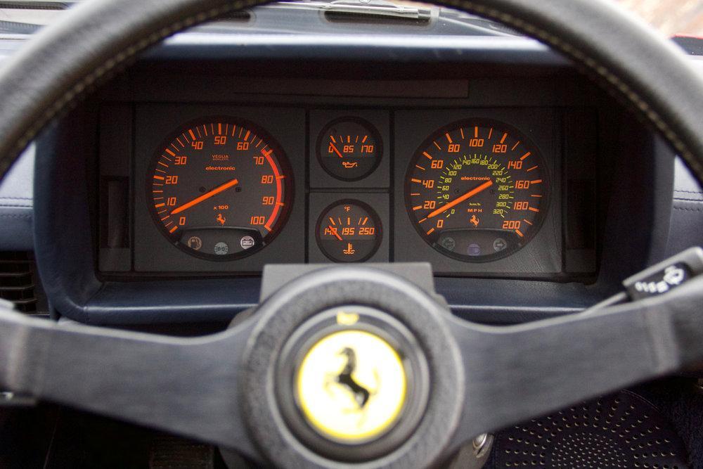 1988 Ferrari Testarossa RHD Rosso Corsa with Blu Scuro #24