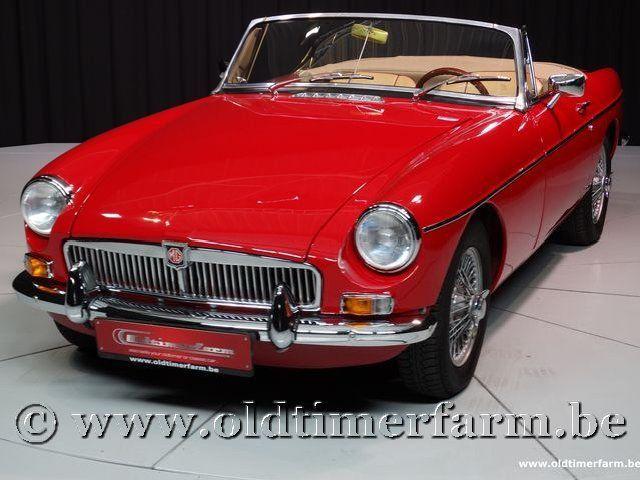 MG B Roadster Red '67 #53