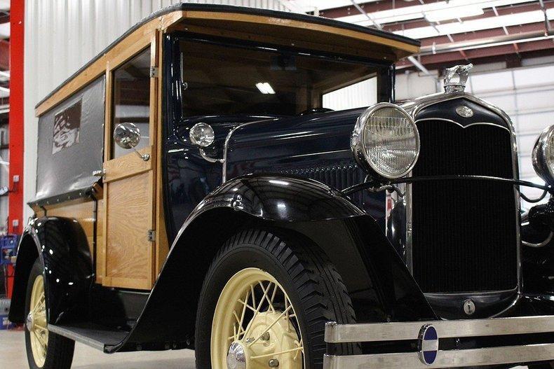 1931 Ford Model A Huckster #27