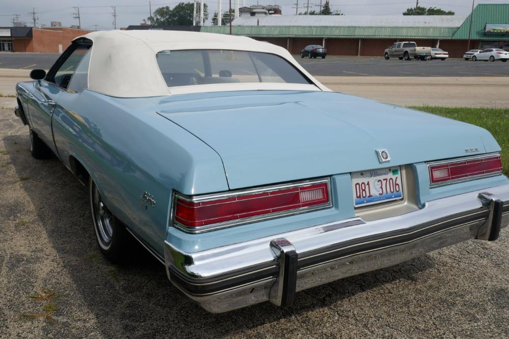 1975 Buick LeSabre -PRICE DROP - CONVERTIBLE -SUPER LOW MILES- NEW PAINT 2017-SEE VIDEO Stock # 75ILKF for sale near Mundelein, IL | IL Buick Dealer #26