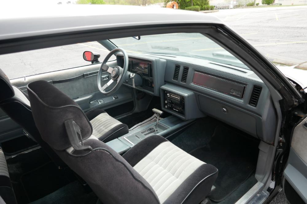 1986 Buick Grand National -PRICED TO SELL-ONE OWNER STOCK GN-LOW 34K MILES-CLEAN CARFAX-SEE VIDEO Stock # 52343SG for sale near Mundelein, IL | IL Buick Dealer #25