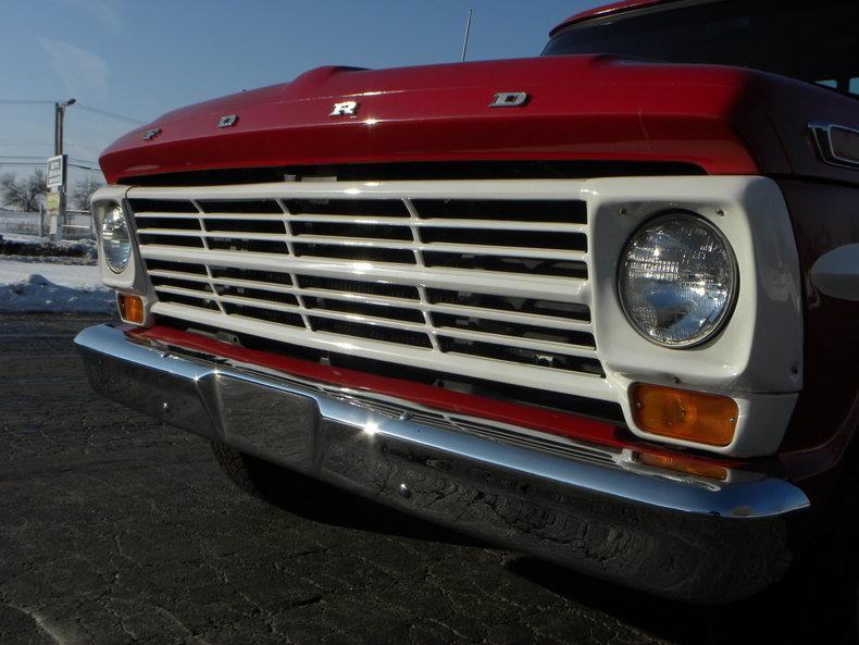 1969 Ford F100 Deluxe Styleside Pickup #9