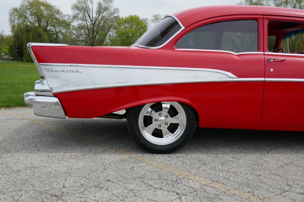 1957 Chevrolet 210 -HIGH END INVESTMENT-AMAZING PAINT AND QUALITY-TRI FIVE-NEW LOWERED PRICE - Stock # 57283CVJM for sale near Mundelein, IL | IL Chevrolet Dealer #5