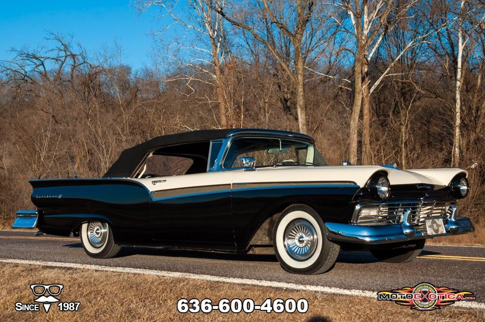1957 Ford Fairlane 500 Sunliner Restomod #60