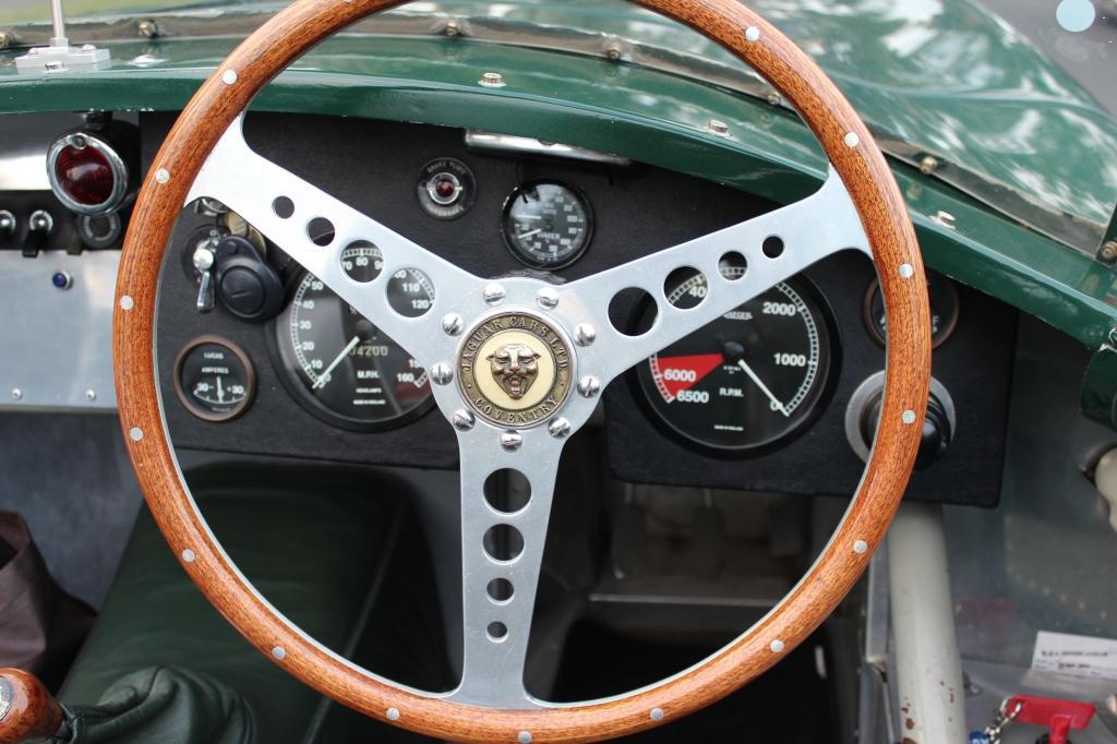 """Jaguar """"C"""" Type replica #5"""