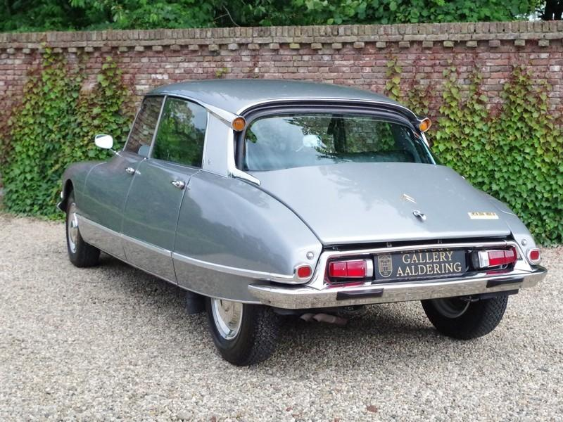 CITROËN DS21 PALLAS INJECTION WITH SUNROOF AND MANUAL GEARBOX! . (1970) #19