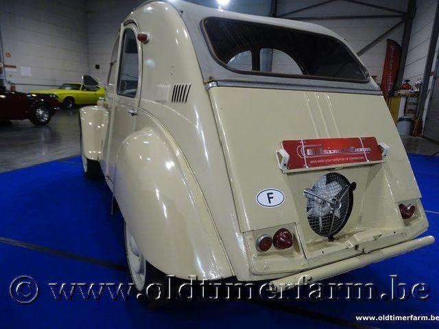 Citroën 2CV 4x4 Sahara '62 #36