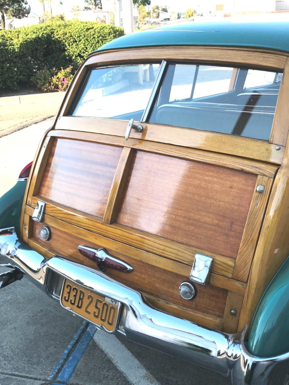 1949 Buick Series 50 -RARE WOODY WAGON- ONLY 653 BUILT-Super Estate Wagon Stock # 849CAMK for sale near Mundelein, IL | IL Buick Dealer #51