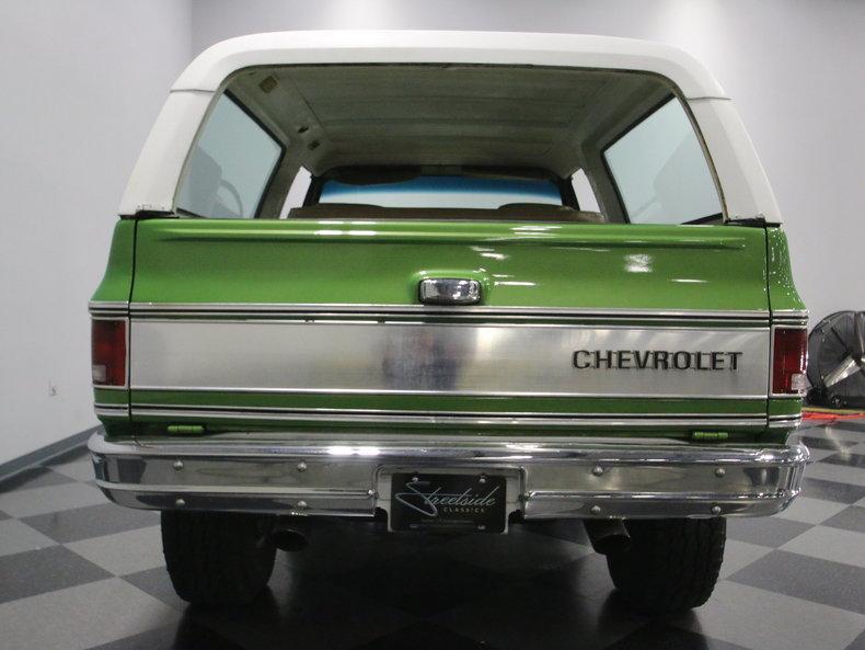1975 Chevrolet Blazer K5 #25
