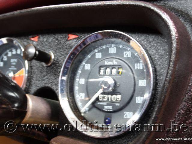 MG B Roadster Red '67 #154