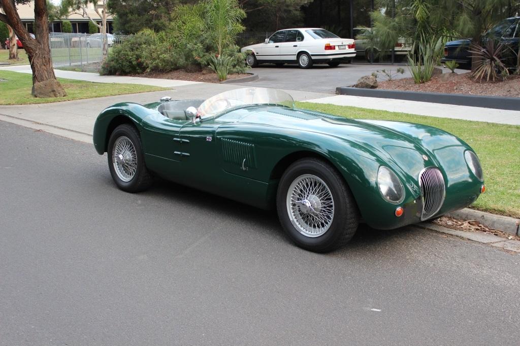 """Jaguar """"C"""" Type replica #0"""