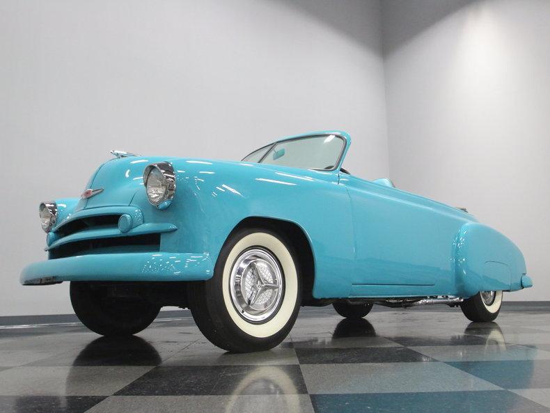 1949 Chevrolet Sedan Roadster #8