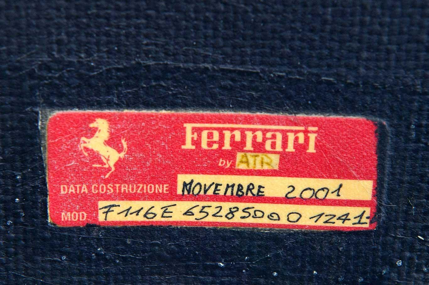 2003 Ferrari 456M GTA RHD #12