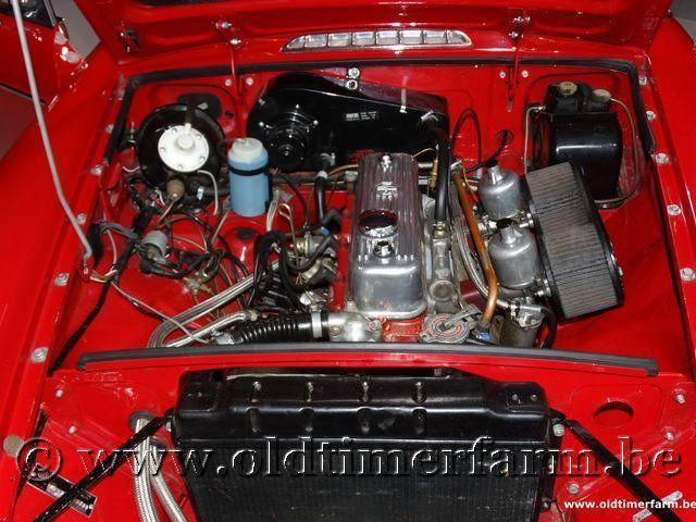 MG B Roadster Red '67 #174