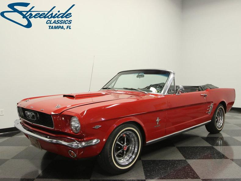 1966 Ford Mustang Convertible #0