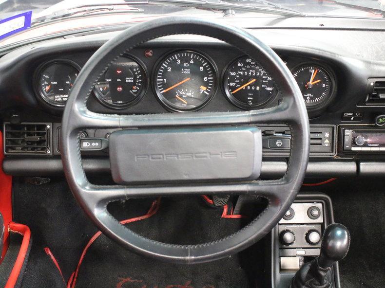 1988 Porsche 911 Turbo Cabriolet #39