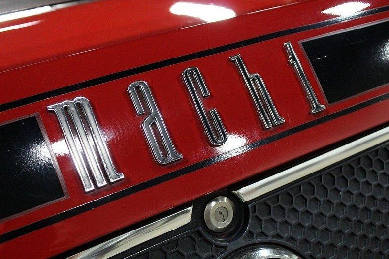 1970 Ford Mach 1 428 COBRA JET #25