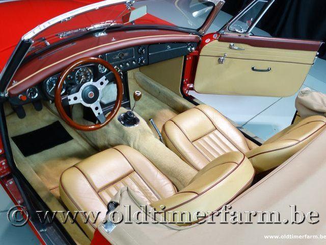 MG B Roadster Red '67 #139