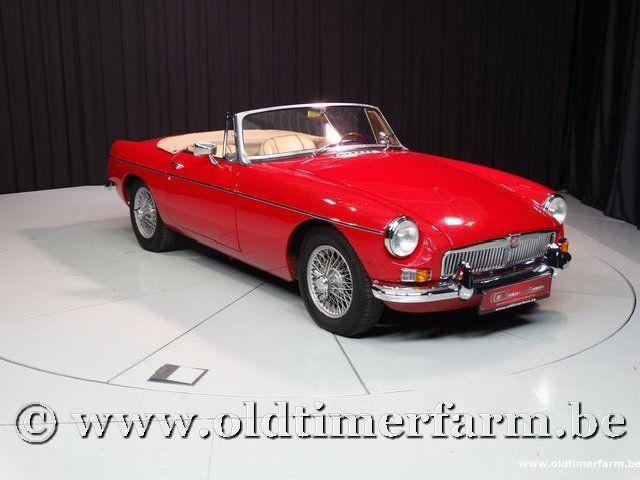 MG B Roadster Red '67 #47
