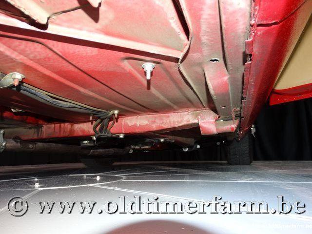 MG B Roadster Red '67 #184