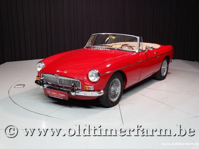 MG B Roadster Red '67 #1