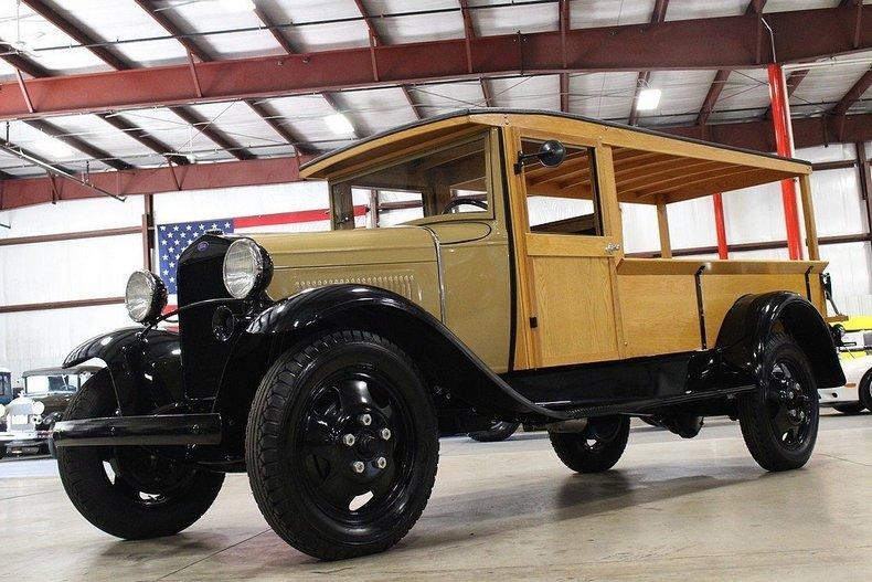 1931 Ford AA Huckster #75