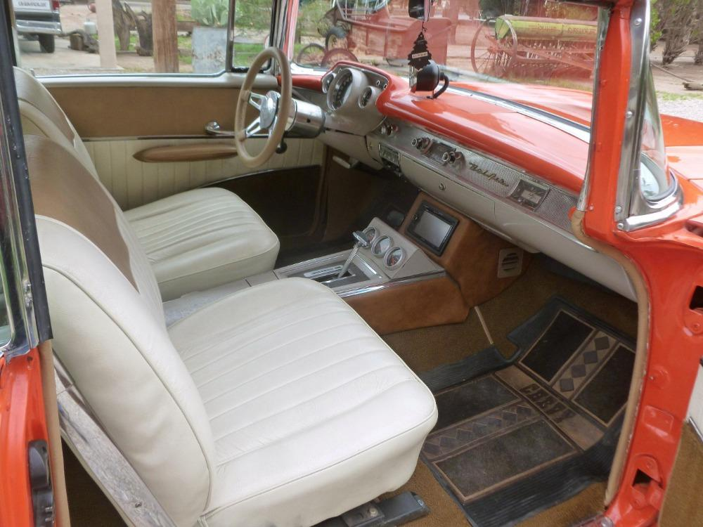 1957 Chevrolet Bel Air -400 HP - MSD - BUCKET SEATS- GREAT QUALITY DRIVER- Stock # 38357SAL for sale near Mundelein, IL | IL Chevrolet Dealer #11