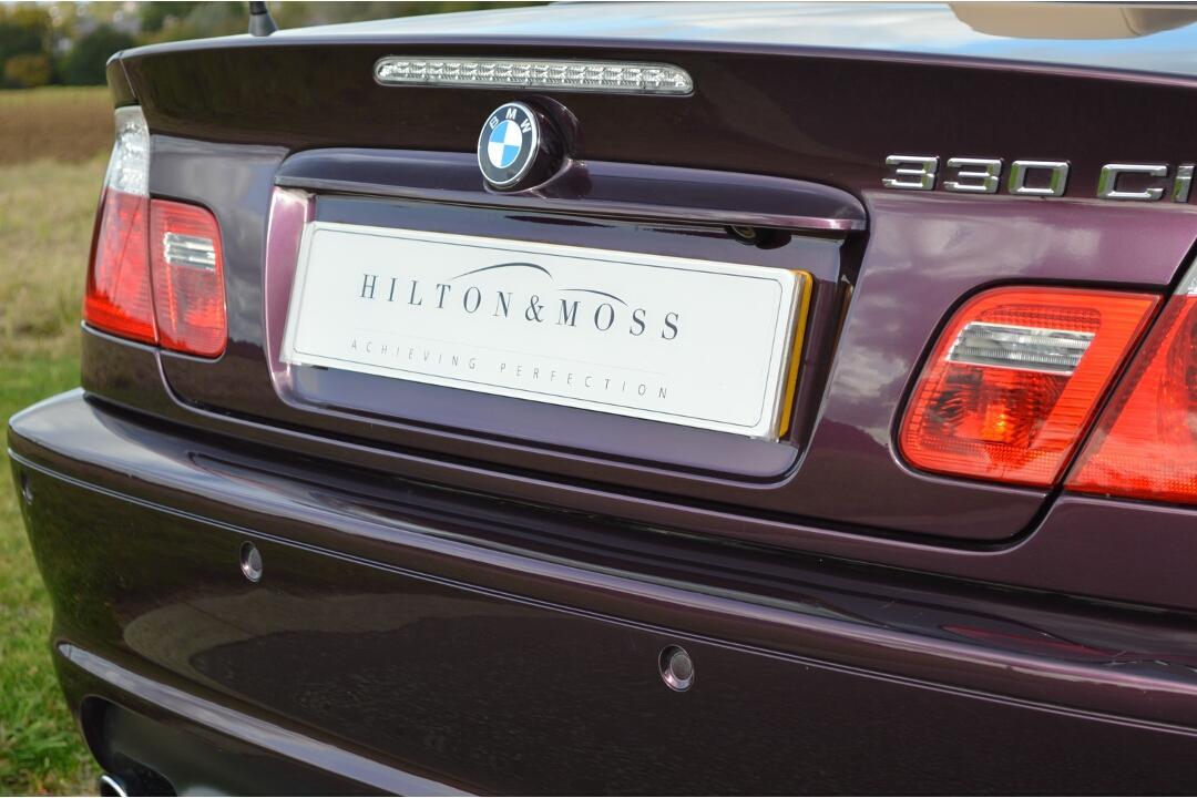 BMW E46 330ci Cabriolet #9