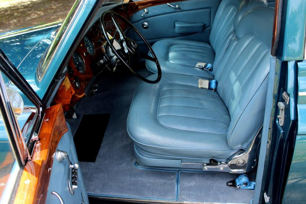 1964 ROLLS-ROYCE SILVER CLOUD III CONTINENTAL JAMES YOUNG SCV100 SPORT SEDAN #LSGT635C ONE OF 2 LEFT DRIVES BUILT #2