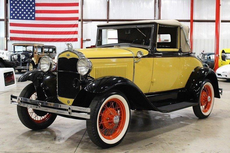 1931 Ford Model A #49