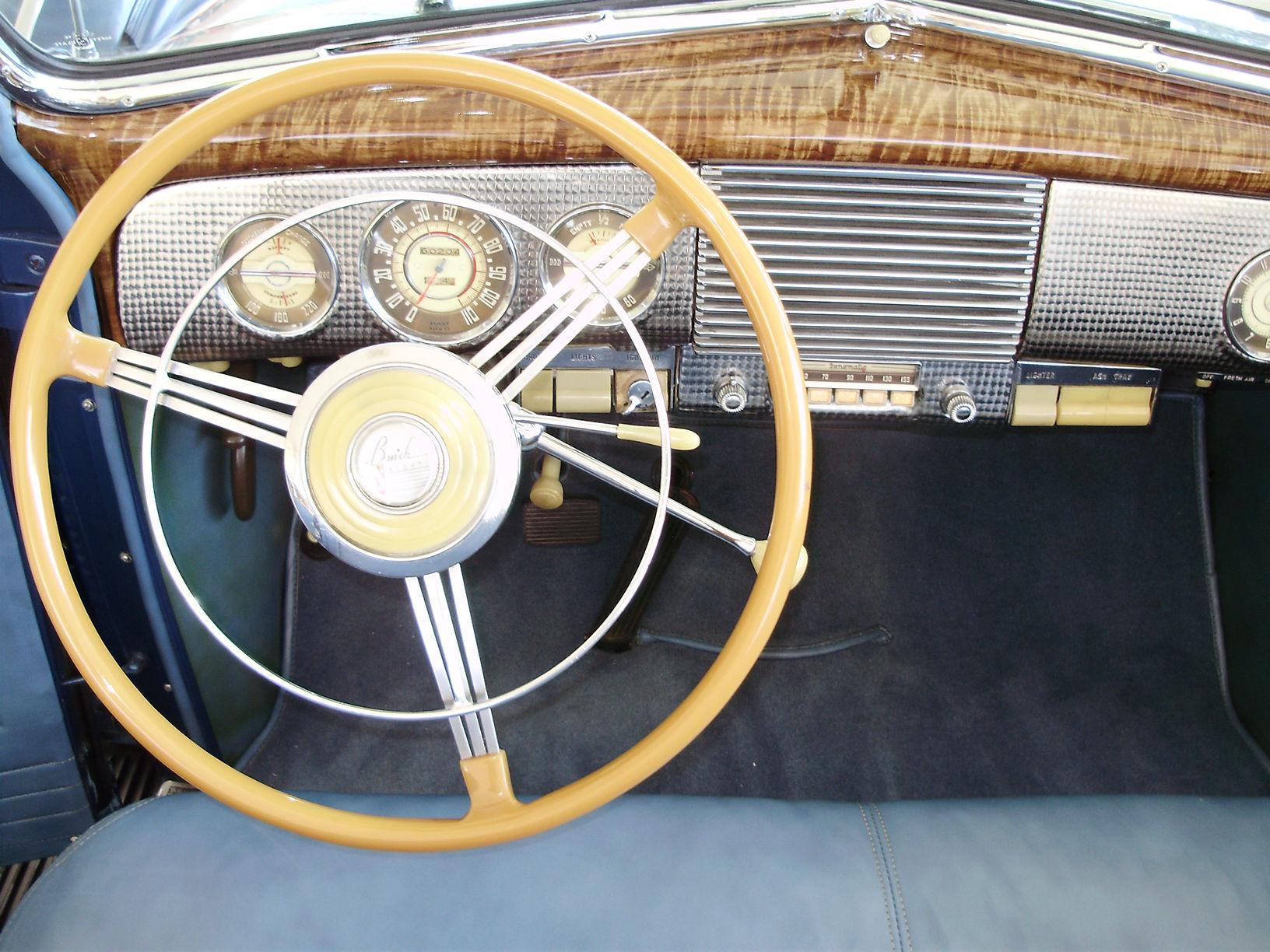 1940 BUICK CENTURY CONVERTIBLE SEDAN - Vintage Motors of Sarasota Inc. #28