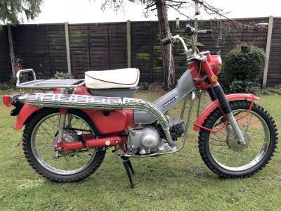 1969 Honda CT90 Trail K1 - Price Estimate: £500 - £1000 #0