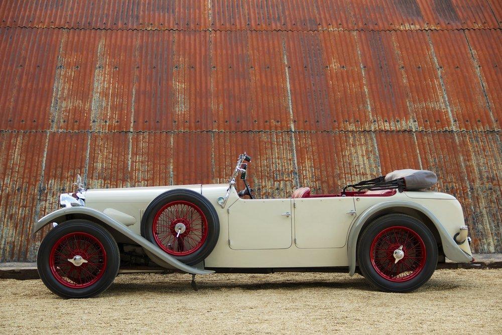 1932 Alvis Speed 20 SA 4-Door Tourer by Cross & Ellis #3