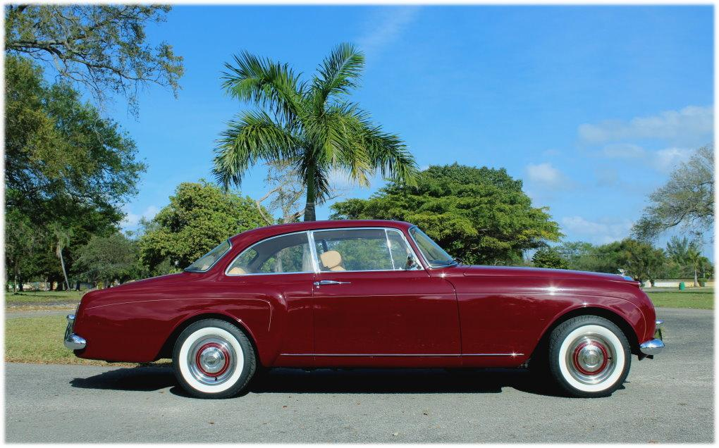 "1960 Bentley S-2 Continental H.J. Mulliner ""Spur Coupe"" #BC39LAR – 8,942 Km (Approximately 5,365 miles) since 1st restoration in 1990 #9"