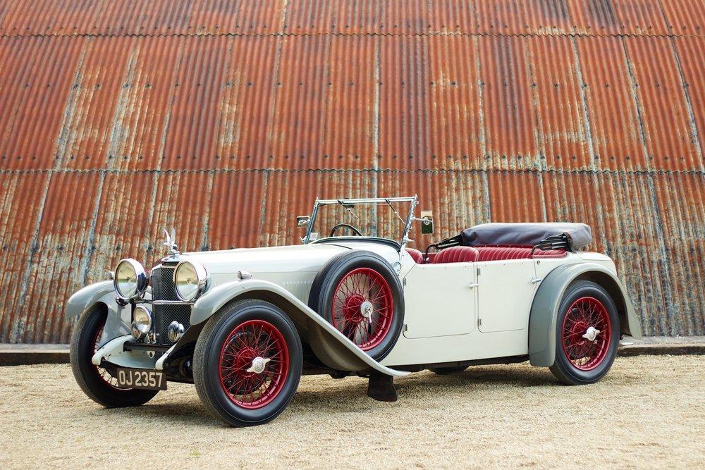 1932 Alvis Speed 20 SA 4-Door Tourer by Cross & Ellis #1