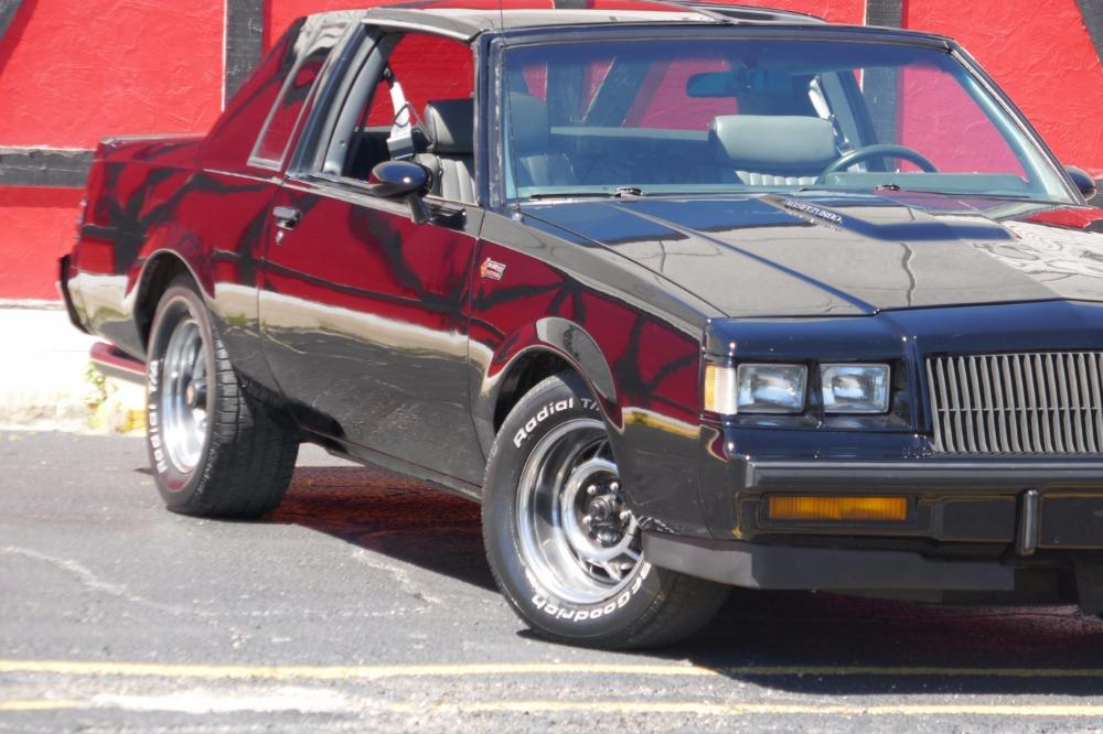 1987 Buick Grand National -AFFORDABLE ONE OWNER WITH T TOPS-SEE VIDEO Stock # 87381JP for sale near Mundelein, IL | IL Buick Dealer #1